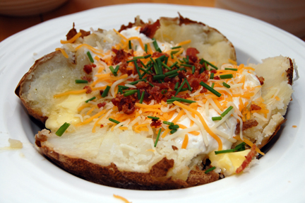 classic american baked potato