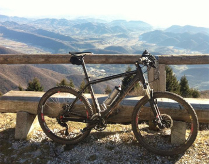 italy alps mountain bike