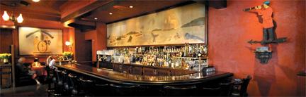 whaling bar mural