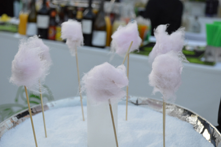 cotton candy foie gras