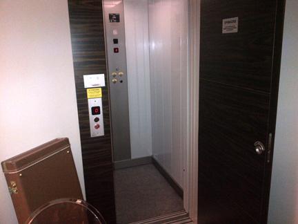 private elevator hotel italy
