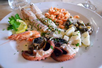 antipasti bolliti cucina veneziana