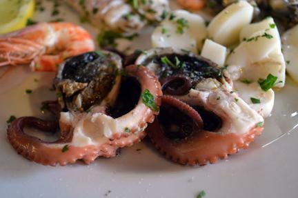 boiled seafood venetian cuisine