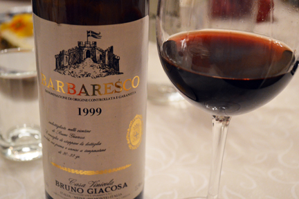giacosa 99 white label barbaresco