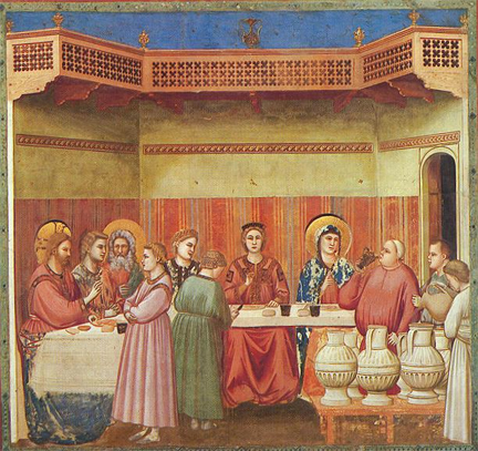 giotto marriage at cana
