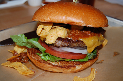 frito pie hamburger