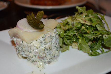 pickled herring salad blau gans