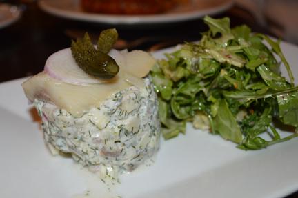 pickled herring salad blau gans