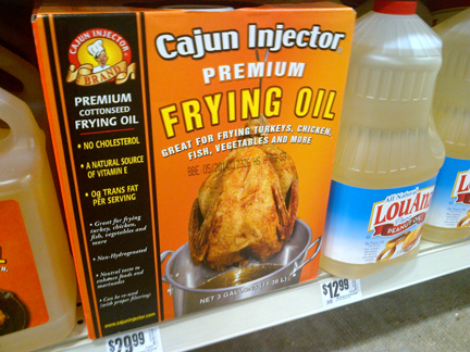 cajun frying oil