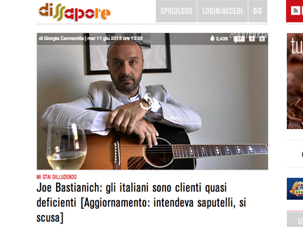 joe bastianich deficiente