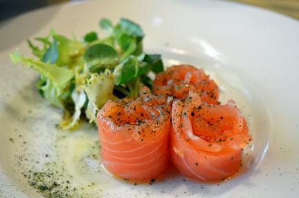 raw salmon italy