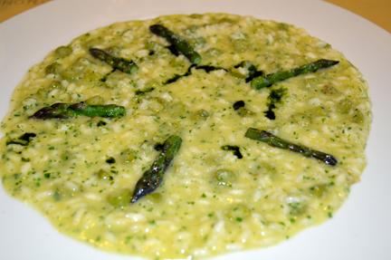 risotto asparagi asparagus