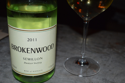 brokenwood semillon