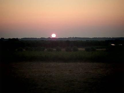 dawn salento sunrise puglia