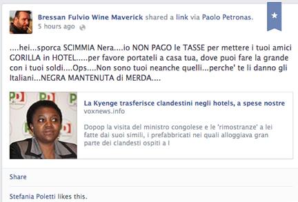 fulvio bressan racist wine