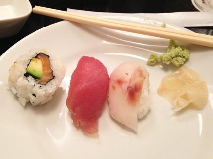 best sushi italy