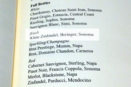 blush wine san francisco