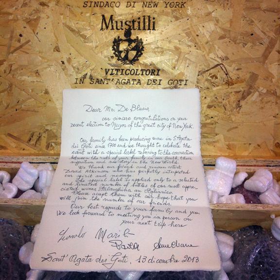 Mustilli letter