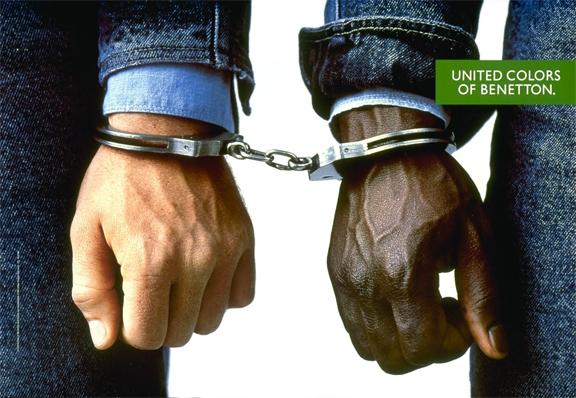 benetton handcuffs ad