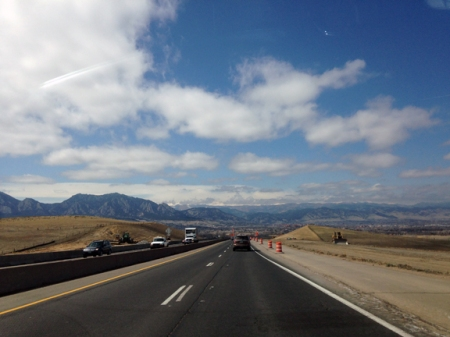 boulder colorado directions from denver