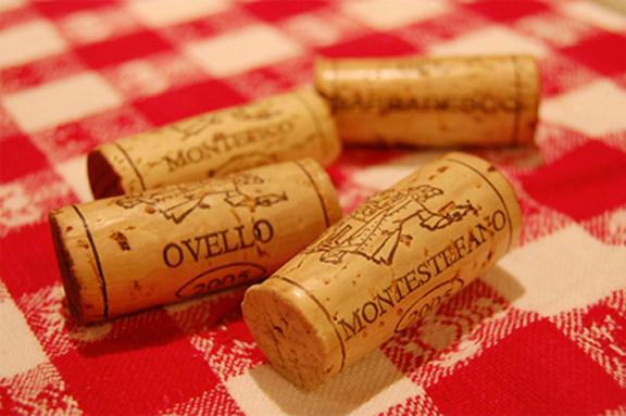 corked wine cork