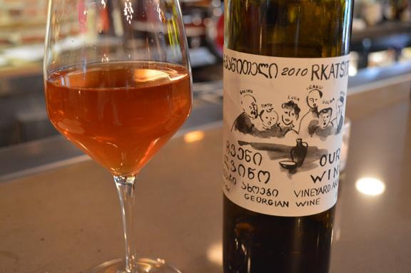 georgian orange wine