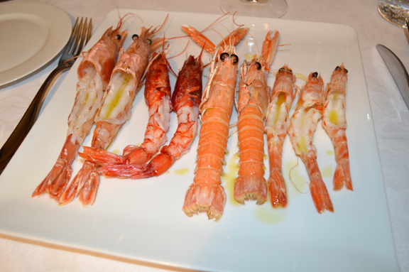 what difference between prawn scampi