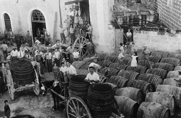 ancient winemaking italy