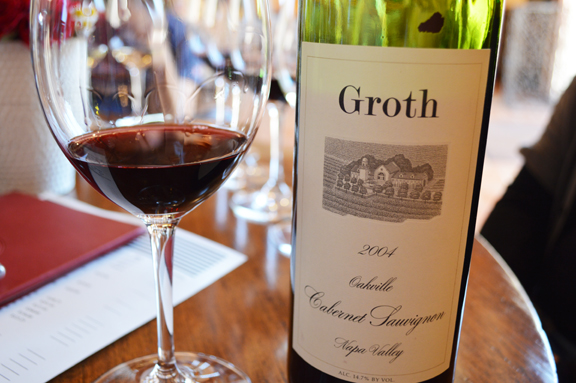 groth oakville wine