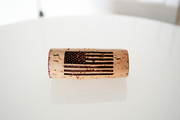 american flag wine
