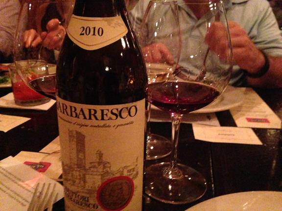 produttori barbaresco 2010 tasting note