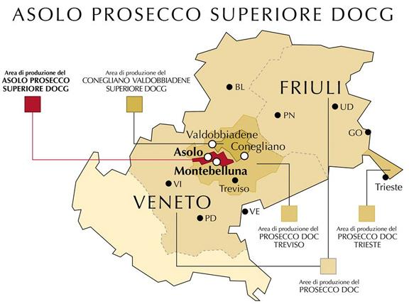 prosecco docg map doc