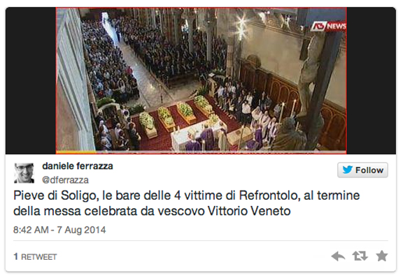 refrontolo funeral