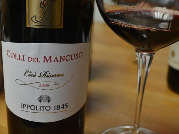 best gaglioppo ciro calabrian wine