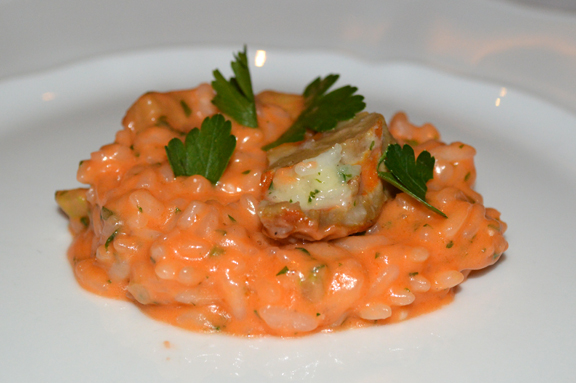 lobster roe risotto recipe