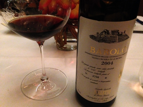 giacosa 2004 white label barolo