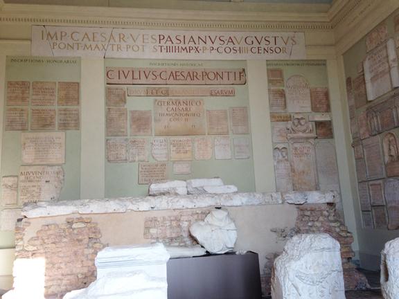 roman inscriptions brescia