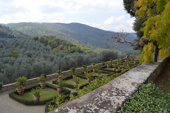 florence villa garden rental
