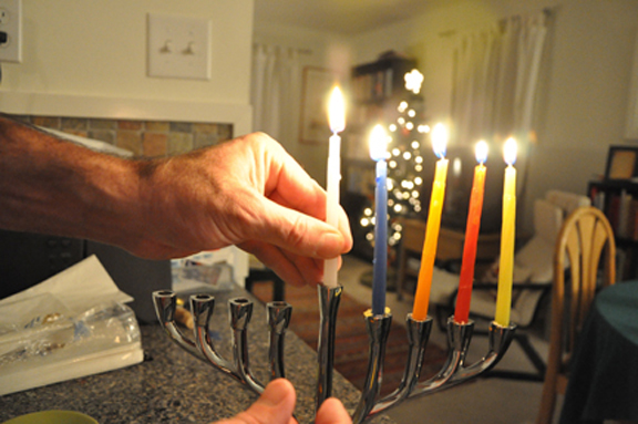 hanukkah candles 2014 houston