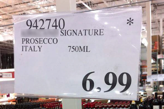 best price value prosecco costco