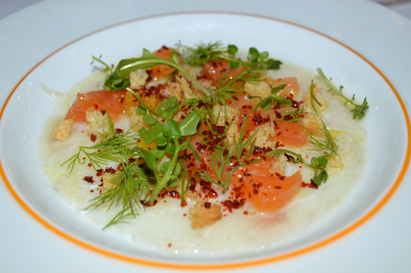 snapper carpaccio recipe