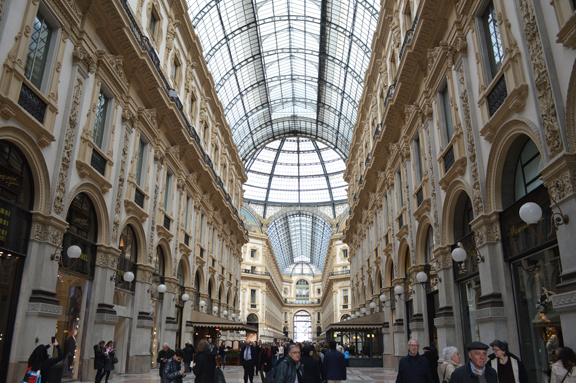 galleria milan photo