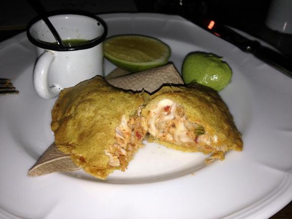 quesadilla de pescado receta ciudad mexico city