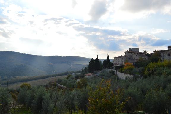 vertine village tuscany chianti