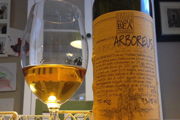 Bea's Arboreus: a wine to share with my wife and a top winery visit in Italy