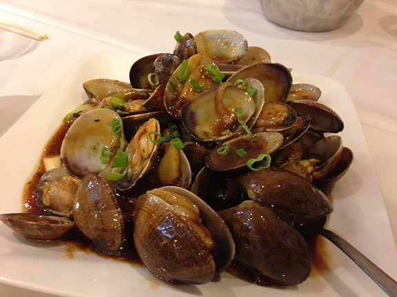 clams black bean sauce recipe