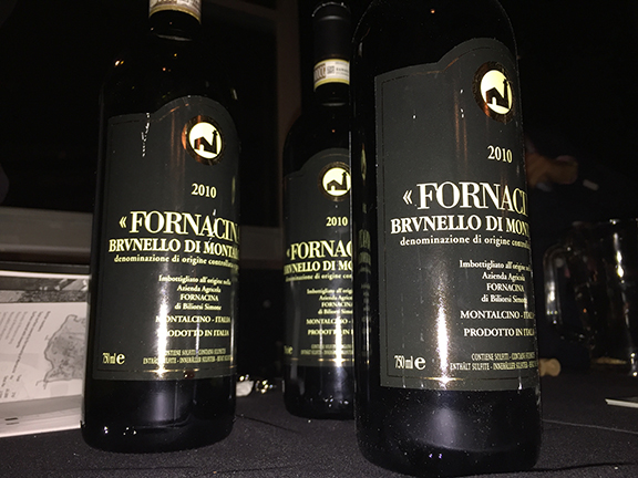 fornacina brunello rating parker
