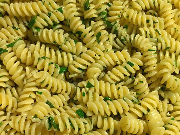 pasta aglio olio recipe