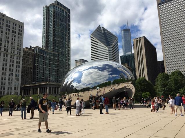 millennium park bean