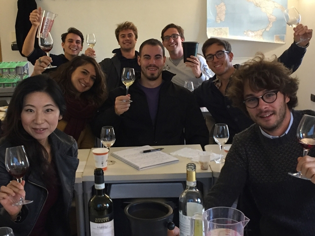 students-italian-wine